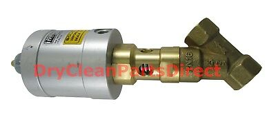 "NEW Union 1/2"" Steam Valve Normally Closed 090215 for Dry Clean Laundry Machine"