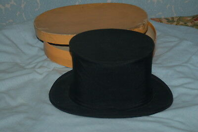 Opera Collapsible Top Hat Silk Austin Reed Ltd Exellent Condition Boxed 37 70 Picclick Uk