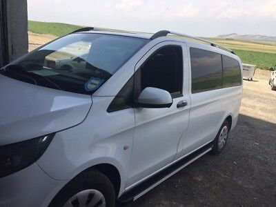 DACHTRÄGER G3 OPEN ALUMINIUM MERCEDES VIANO AB 2003 MIT RELING