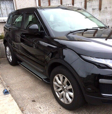Range Rover Evoque su 2011+ Running Board Step Barra Pedane Laterali Targa Stile