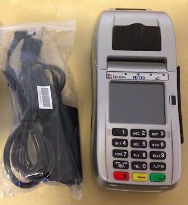 ***first Data Fd-130 Terminal Set  ***mint Condition***free Shipping + Warranty