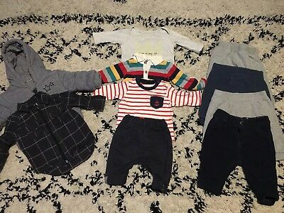 Baby Boys Clothes Outfit Bundle 0-3 Months NEXT, River Island, JL, Mothercare