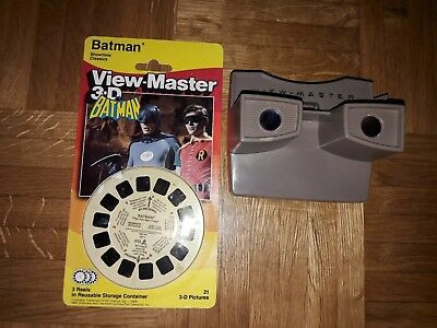 Batman View-Master 3D 3 Reels in OVP + View Master