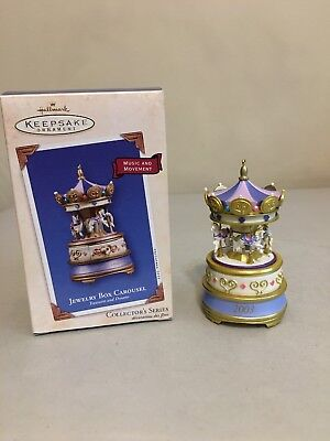Hallmark Keepsake 2003 Ornament -- Jewelry Box Carousel Treasures and Dreams #2