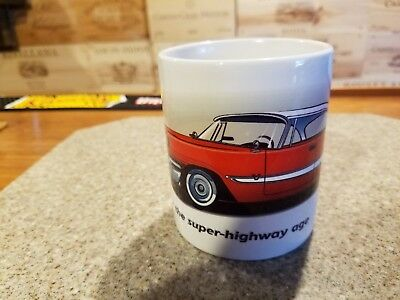 Desoto mug Designed for the super-highway age