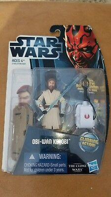 Star Wars 2012 Clone Wars Action Figure CW No. 12 ObiWan Kenobi
