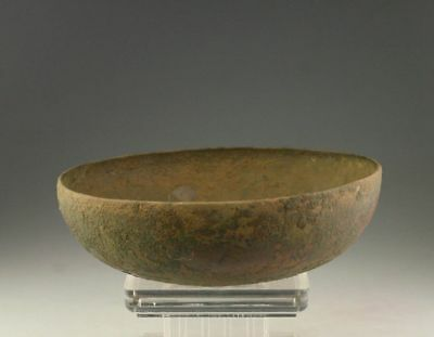 *sc* Scarce Bronze Food Bowl, Roman 1St.-3Rd. Cent. Ad!