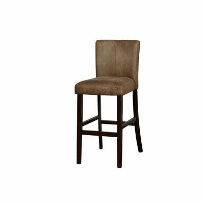 Superb Linon Morocco Distressed Brown Bar Stool 114 08 Picclick Unemploymentrelief Wooden Chair Designs For Living Room Unemploymentrelieforg