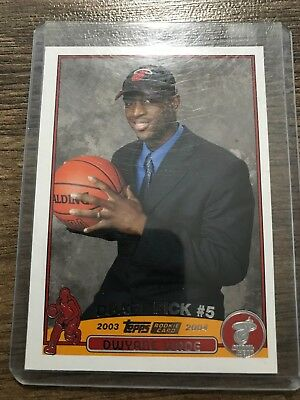 2003 04 Topps Chrome Dwayne Wade Rookie 2000 Picclick