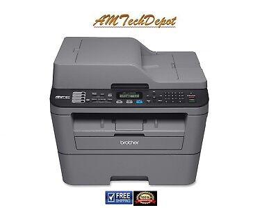 Brother MFCL2700DW Compact Laser All-in One Printer With Wireless Networking and