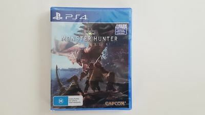Monster Hunter World PS4 New & Sealed SAME DAY FREE SHIPPING