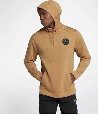 508ddf30f747 Nike MEN S Kyrie Basketball Dry Hoodie Elemental Gold SIZE LARGE BRAND NEW