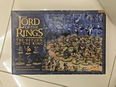 Games Workshop The Lord Of The Rings The Return Of De King 06-13 Scatola Vuota