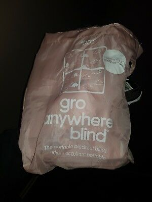 Gro Company Gro Anywhere Blackout Blind Pink