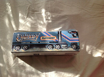 Matchbox CONVOY carry case