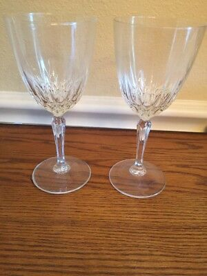 Luminarc Clear Crystal Wine Glasses Goblets Stemware Diamant