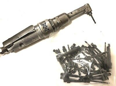 Rockwell Small Body 90 Degree Angle Drill 1/4-28 Aircraft Tool Bits