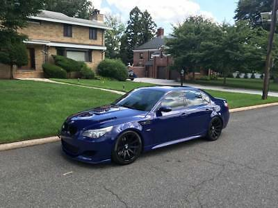 2007 Bmw M5  2007 Bmw M5 M Blue Rare Mods Wow!!!!