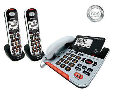 Uniden Sse37+2 Visual & Hearing Impaired Cordless Digital Phone System Intercom