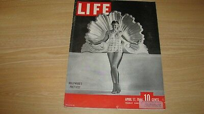 1944 Life Magazine  April 17   Esther Williams  High Grade Lowest Price On Ebay
