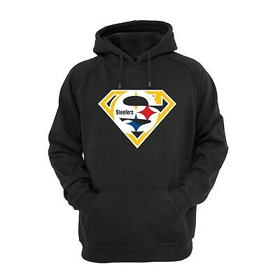 Super Pittsburgh Steelers Sweatshirt Hoodie Football Roethlisberger USA seller