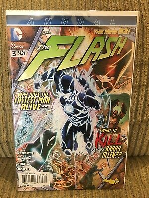 New 52 Flash Annual 3 FIRST APPEARANCE New Wally West Kid Flash