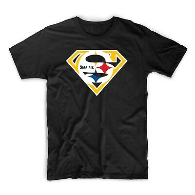 Super Pittsburgh Steelers T-Shirt Tee Hoodie Football Roethlisberger USA seller