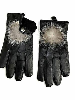 Ladies women Real Leather Winter Gloves Premium Quality Soft fur Driving Warm