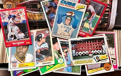 ESTATE '60/1970/1980/1990/00 HUGE ASSORTMENT LOT of TOPPs & OTHER BASEBALL CARDS
