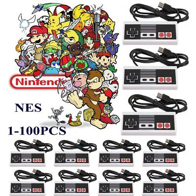 LOT NES Classic Edition Controller Gamepad For Nintendo Mini Console US Version