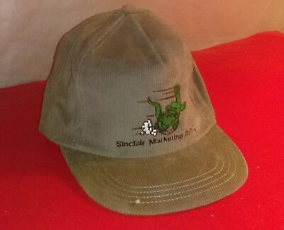 Sinclair Dino Dinosaur Gasoline Hat Gas Oil Cap Sinclair Marketing Department