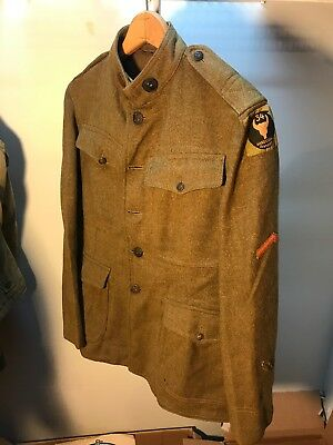 WW1 US 34th Infantry Division Uniform Liberty Loan (B147