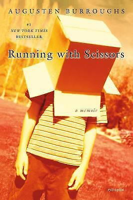 Running with Scissors ,Augusten X. Burroughs Paperback, FREE NEXT DAY SHIPPING!