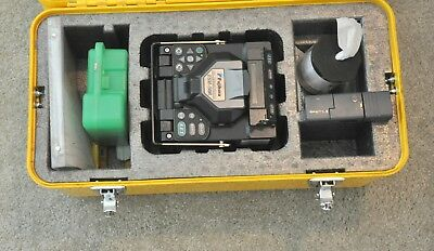 Fujikura FSM-50R12 SM MM Fiber Ribbon Fusion Splicer FSM 50R Unit 2490 Arcs CT30