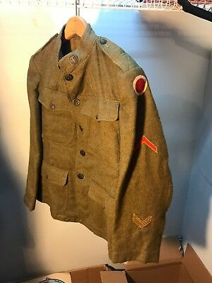 WW1 US 37th Infantry Division Uniform Named (B149