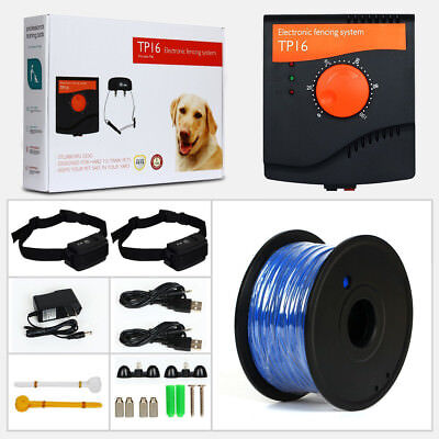 1000M Boundary  Pet Dog Electric Fence Waterproof Rechargeable Training Collar