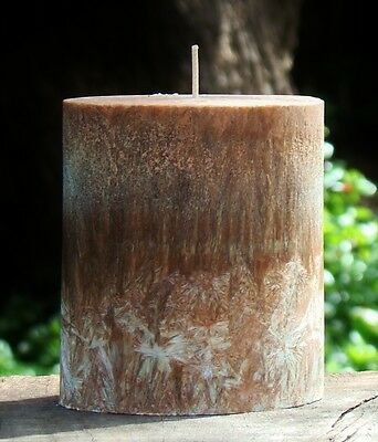 80hr SACRED CHRISTMAS SANDALWOOD Scented Stylish Oval RELAXTION YOGA CANDLE