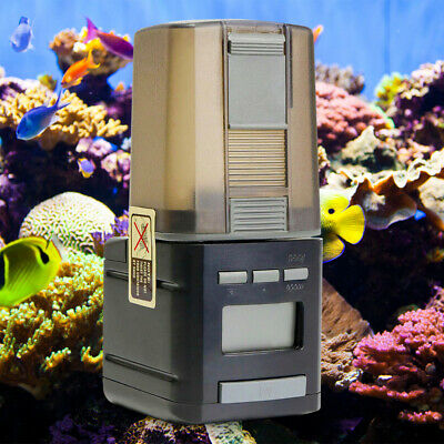Automatic WiFi Fish Food Feeder Pet Feeding Aquarium Tank Pond Auto Dispenser