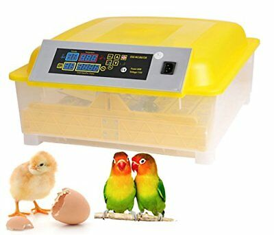 New 48 Egg Incubator Digital Automatic Poultry Hatcher Egg Turning Chicken Duck