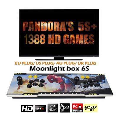 1388 In 1 Pandora 3D Box Arcade Game Console 1080P FHD 2 Players Arcade Machine