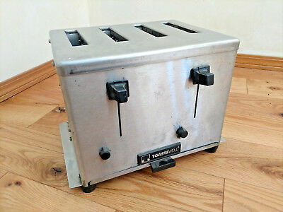 Toastswell 4 Slice Commercial Stainless Toaster BTm4-H 230v