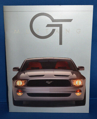 Ford Mustang GT Concept Premiere Press Kit! Nice! Rare! 2005-2009! CD-ROM!