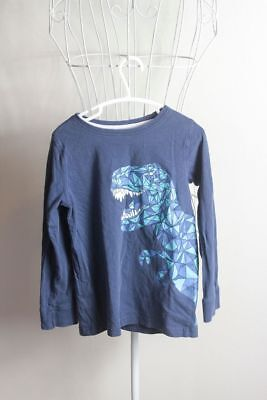 Boys Size 6 'H&T' Blue Long Sleeve Tshirt Jumper. Great Condition! Bargain Price