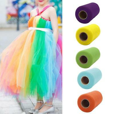 15cm * 25Y Tulle Fabric Roll Wedding Party Event Wedding Clothes Decor-New