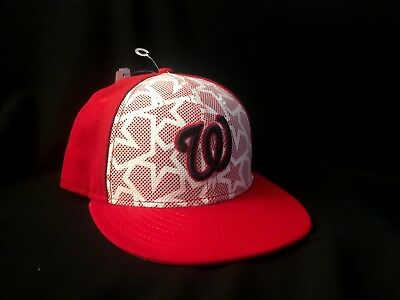 check out df94a d8356 Washington Nationals  2016 JULY 4TH STARS N STRIPES  Fitted Hats by New Era