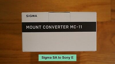 Sigma MC-11 Mount Converter Lens Adapter (Sigma SA Mount to Sony E) - New