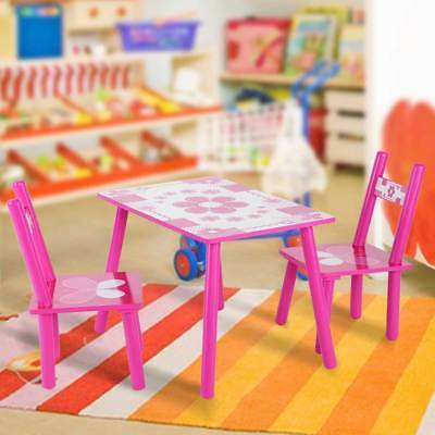 Kids Table & Chairs Play Set Toddler Child Toy Activity Furniture In-Outdoor US