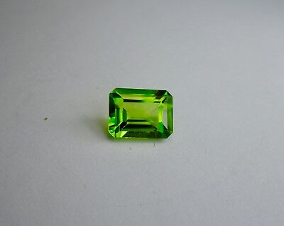 2.30 Ct. 9x6 mm Rectangle Shape Loose Peridot Pakistan