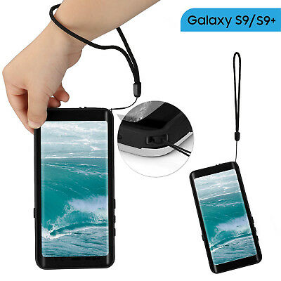 Waterproof Case with Kickstand and Floating Strap Built in Screen Protector