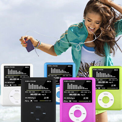 """Multifunction Portable MP3/MP4 Lossless Sound Music Player FM Recorder 1.8"""" TF"""